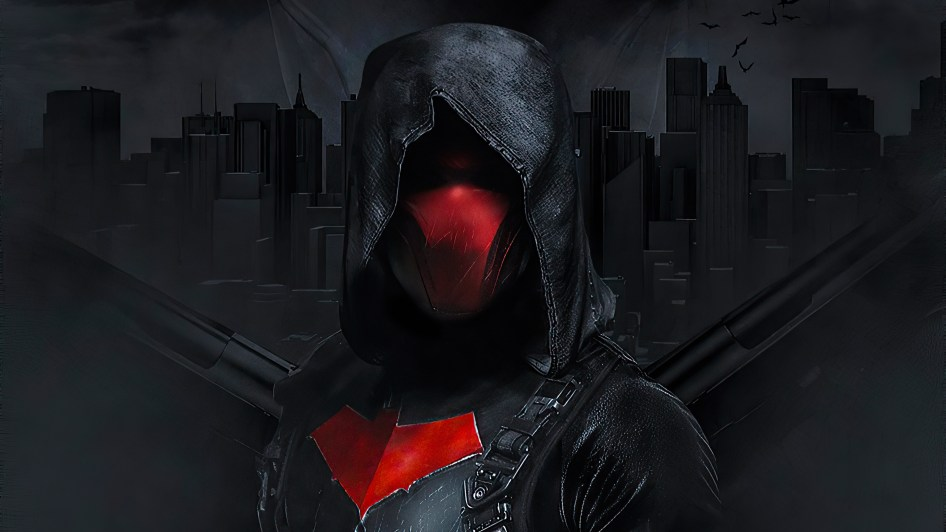 red hood is scratched