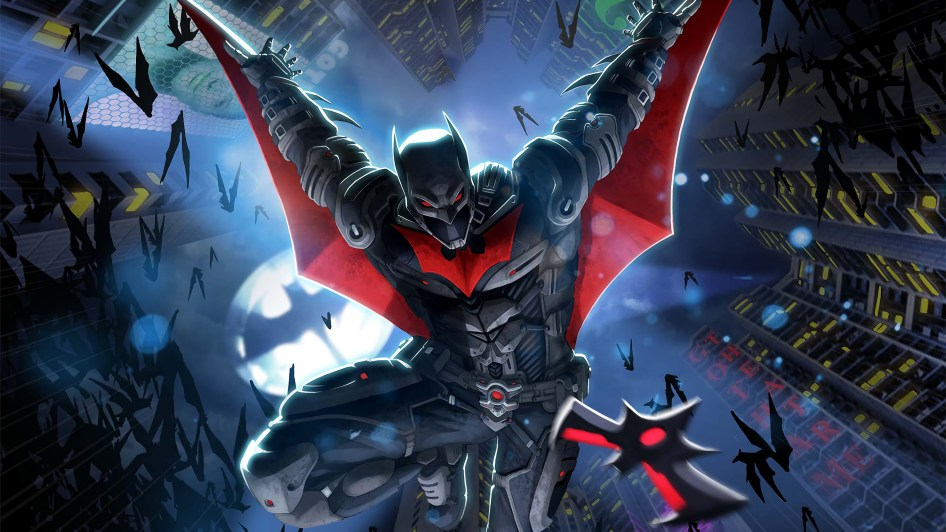 Batman is armored