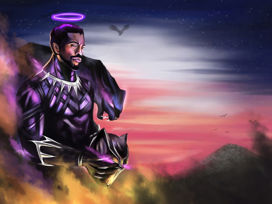 Black Panther is an angel