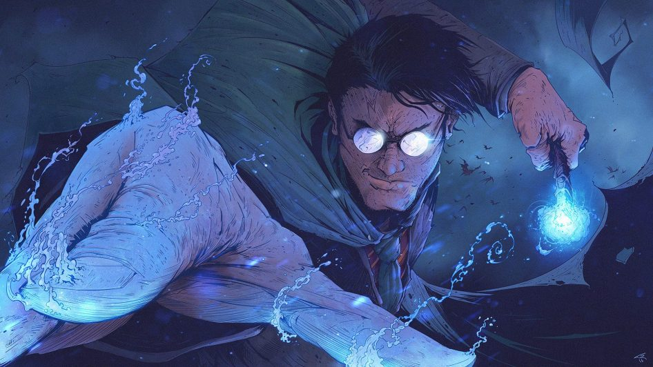 Adult Harry Potter