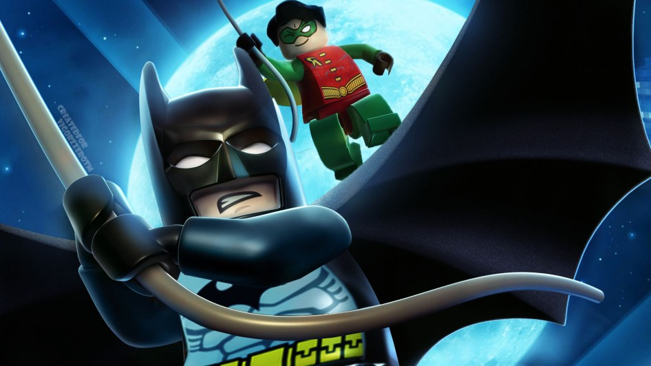 Batman and Robin is LEGO