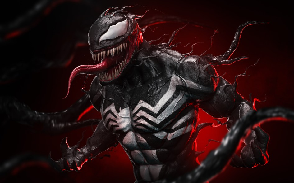 Venom in red light