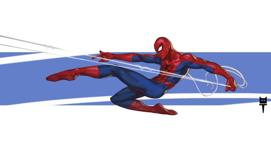 spider-man pulling
