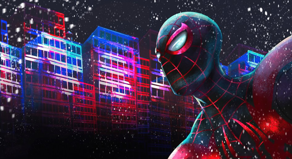 Spider-Man in Space