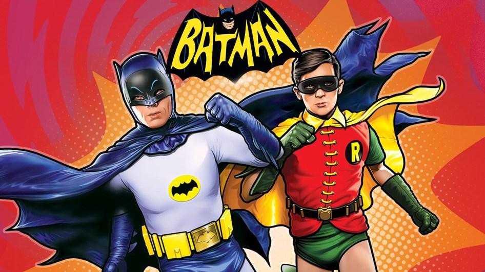 Batman 66 Running With Robin