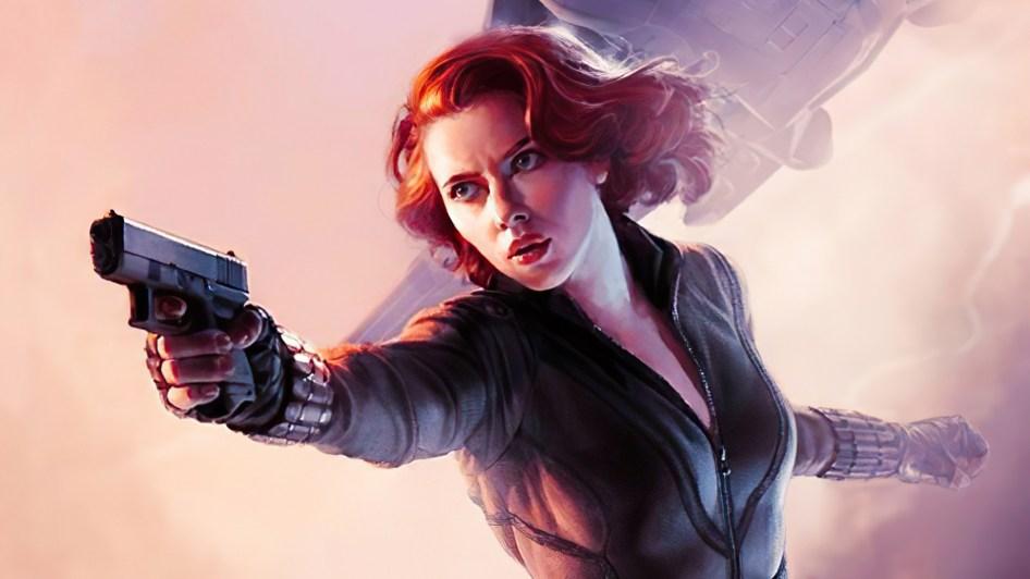 Black Widow has a tiny gun