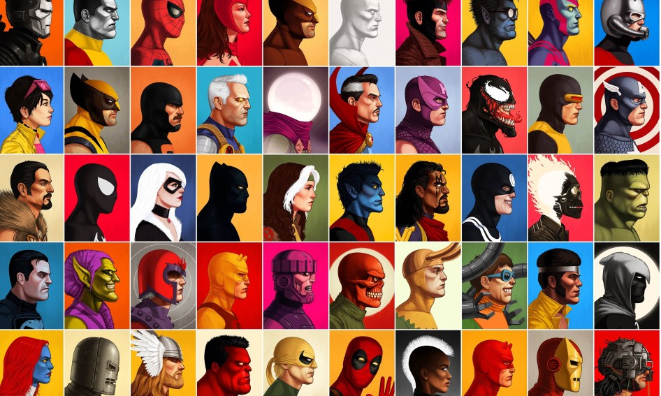 Marvel Faces