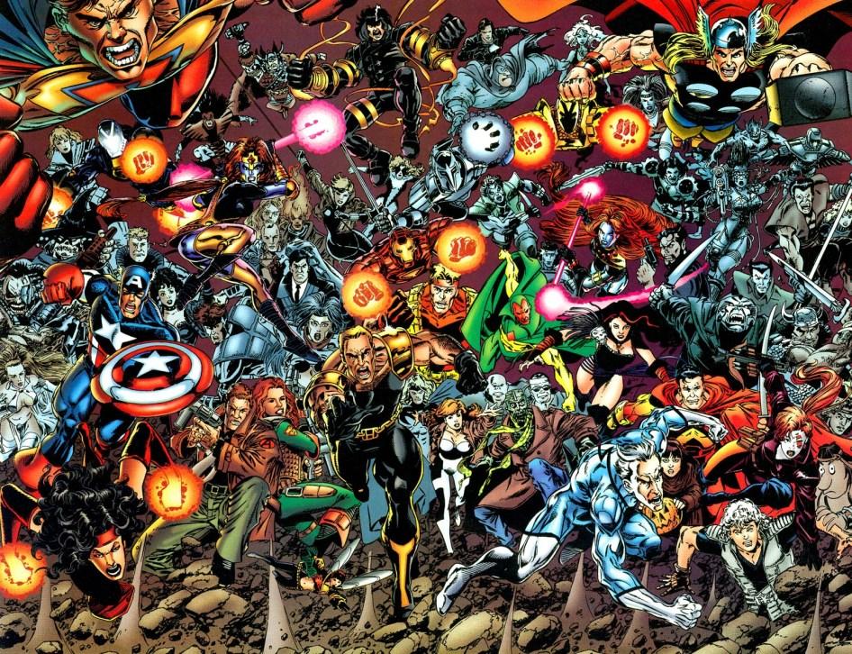 Marvel and Malibu Team Up