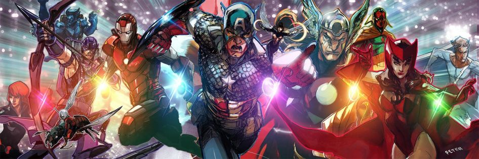 Avengers Assemble by Peter Nguyen