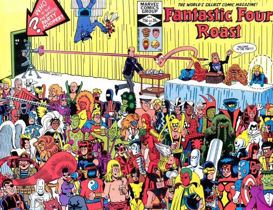 Fantastic Four Roast