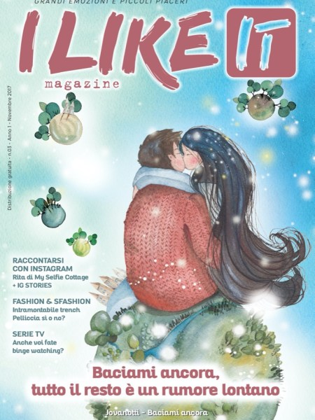 I like it magazine (cover novembre 2017)