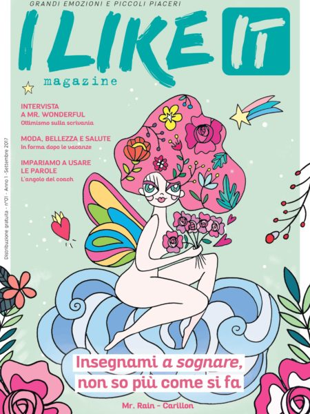 I like it magazine (cover settembre 2017)