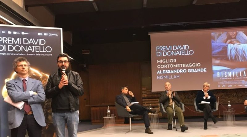 """David di Donatello 2018: """"Bismillah"""" vince per il miglior corto"""