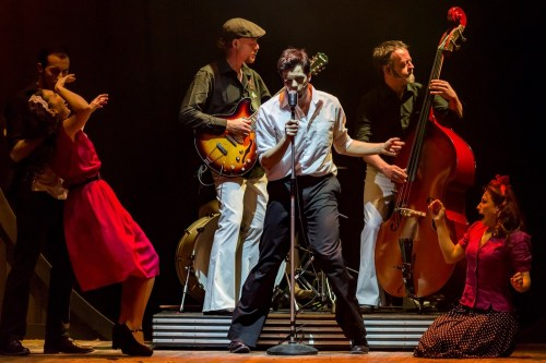 elvis the musical brancaccio di roma