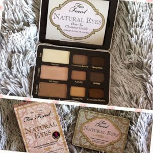 natural eyes palette Too faced