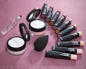 prodotti per la base Mulac cosmetics