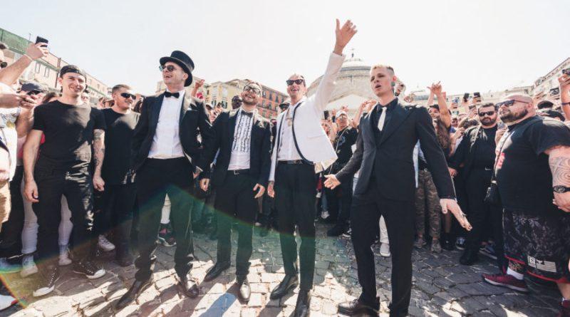 """Achille Lauro: domani esce """"Ammò"""", il feat. con Clementino e Rocco Hunt"""