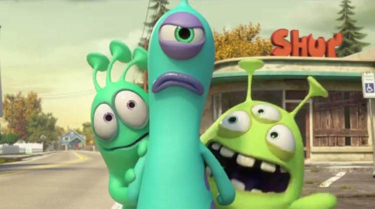 """""""Luis e gli alieni"""" stanno per sbarcare! L'11 luglio in tutte le sale (TRAILER)"""