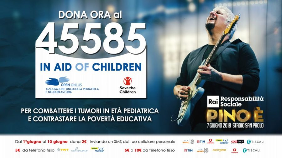 """""""PINO È"""": questa sera il più grande tributo live della musica italiana a Pino Daniele"""