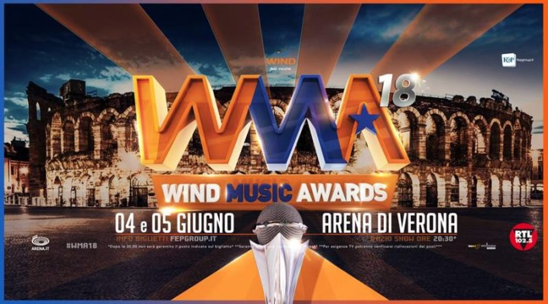 Torna un appuntamento imperdibile di inizio estate: ai Wind Music Awards brillano le stelle della musica:
