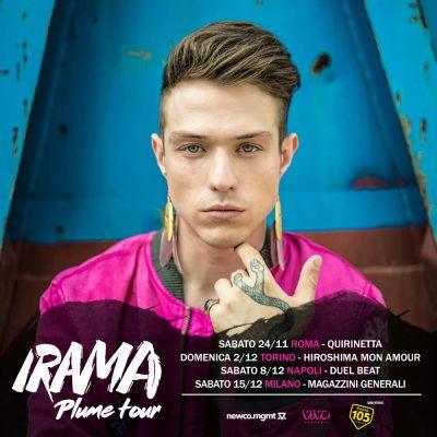 irama plume tour
