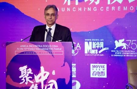 Focus on China Ambasciatore Ettore Sequi