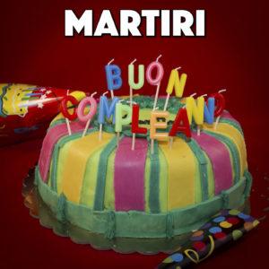 martiri il tuo compleanno