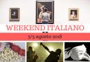 Weekend italiano: film, spettacoli, mostre e concerti (3/5 agosto 2018)