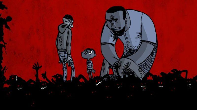 """Zombie (fuori) e migranti (intorno) in """"Go Home - A casa loro"""""""