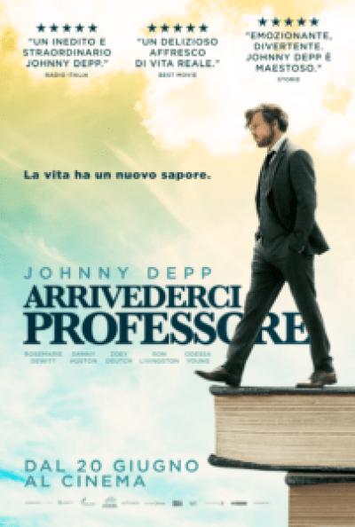 Johnny Depp arrivederci professore