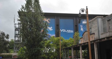 Cinecittà World: grande successo per Volarium, il primo cinema volante