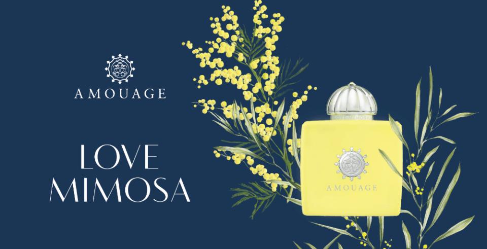 Love Mimosa: l'omaggio di Amouage alle donne eleganti e indipendenti