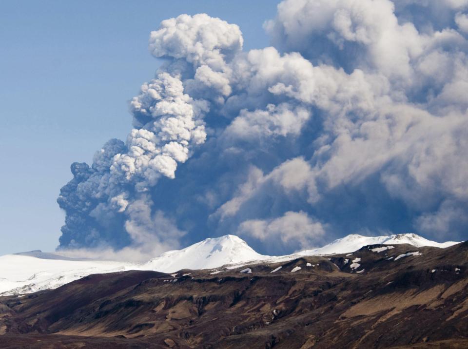 vulcano Eyjafjallajökull
