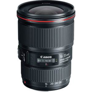 Canon Lens EF 16-35mm f4L IS USM 1