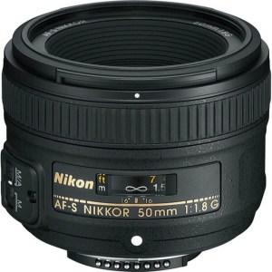 Nikon Lens AF-S 50mm F1.8 G 1
