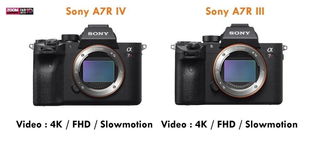 เปรียบเทียบ : Sony A7R IV vs Sony A7R III   ZoomCamera