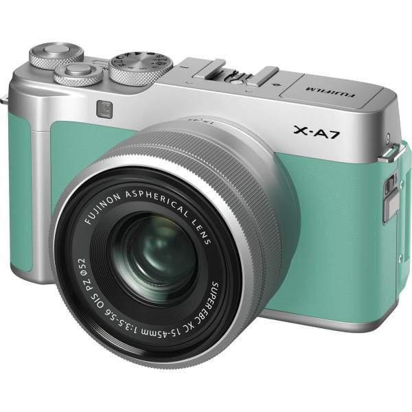 FUJIFILM X-A7 Mirrorless Digital Camera with 15-45mm Lens
