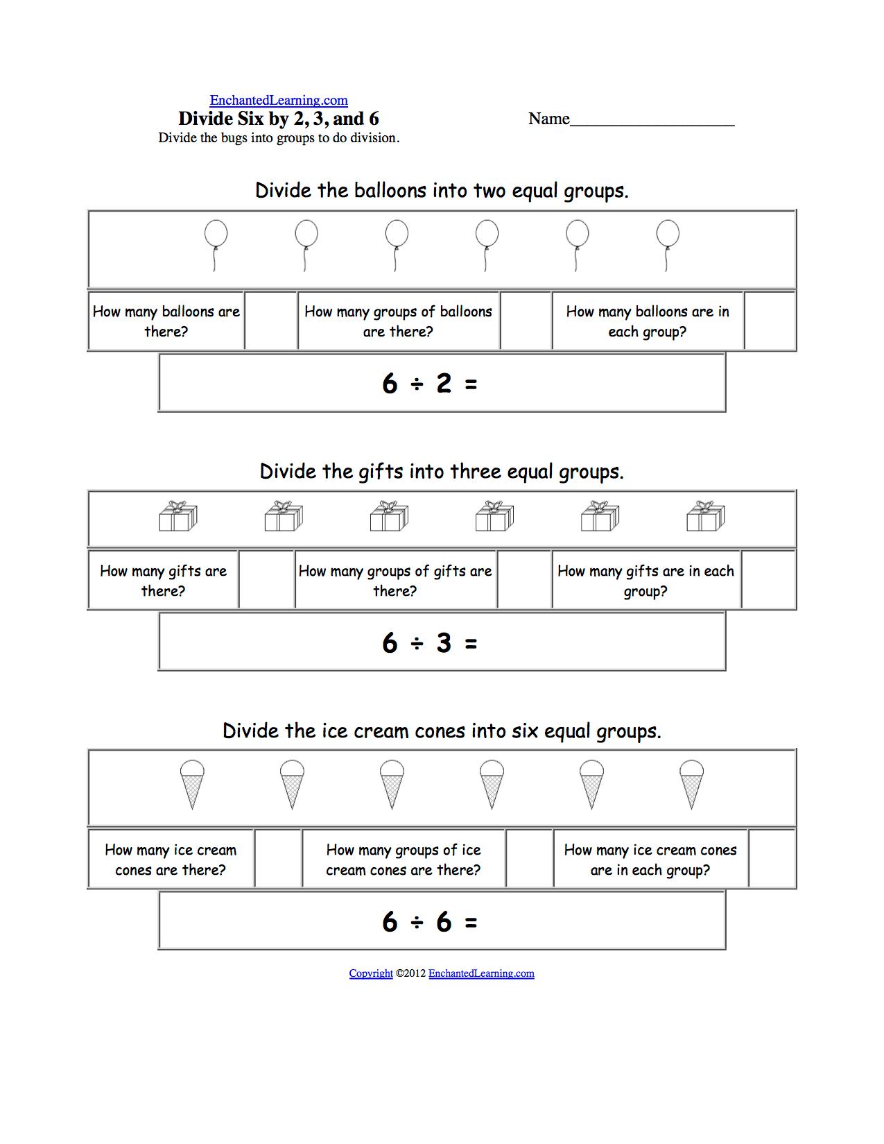 Candy Land Math Worksheet