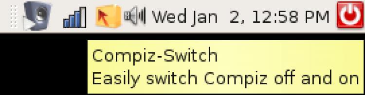 Spegnere e riattivare velocemente Compiz con Compiz-Switch