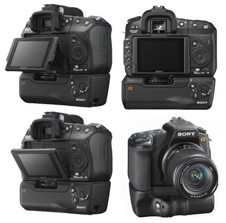Sony presenta la sua fotocamera con flip screen (A200)