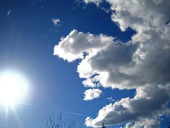 nuvole e aria pulita