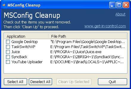MSConfig Cleanup: togliere i programmi in avvio automatico