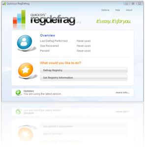 RegDefrag deframmentazione del registro