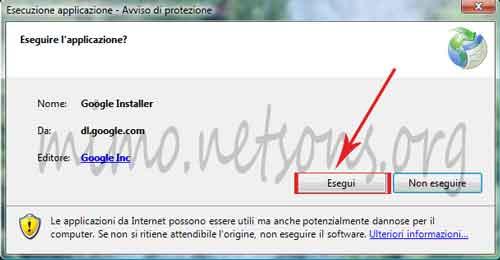 Guida su come installare il browser Google Chrome