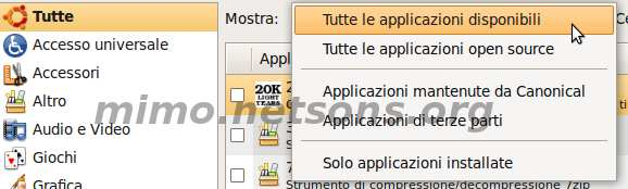Supporto per MP3, video ed audio su Ubuntu