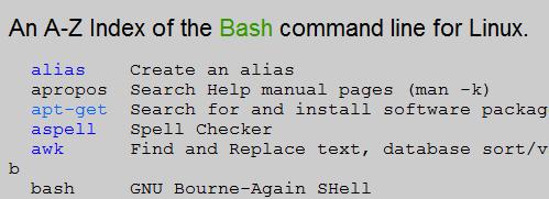 Tutti i Comandi Bash… dalla A alla Z!