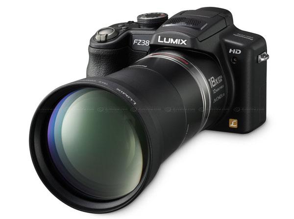 Panasonic svela la Lumix DMC-FZ35 / FZ38 Super Zoom