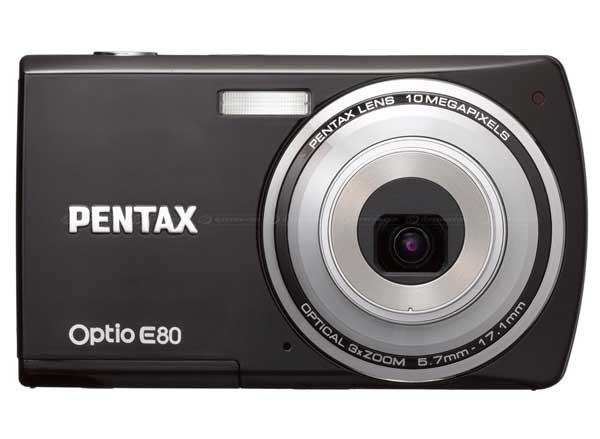 Pentax Optio E80, la nuova compatta di Pentax per tutte le tasche