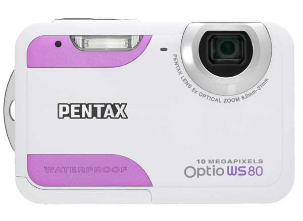 Fotocamere resistenti all'acqua: Pentax Optio WS80