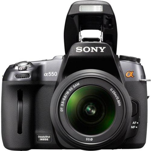 Sony-DSLR-Alpha-550